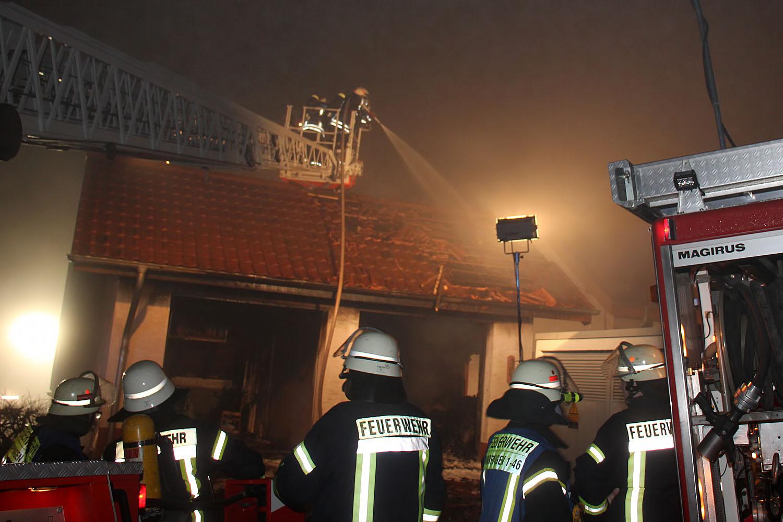 Garagenbrand Urexweiler