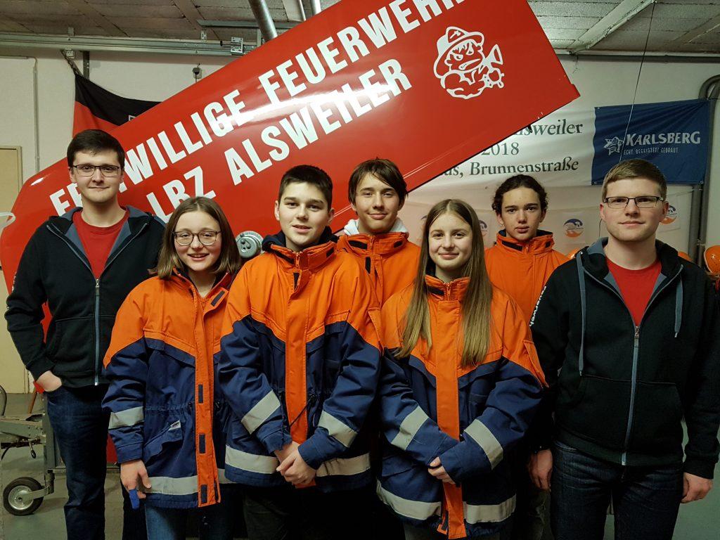 Neuer Jugensausschuss JF Alsweiler 2020